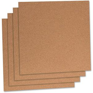 Lorell Natural Cork Panels: for creating my small moon string at project using tacks. Can also make a complementary sun