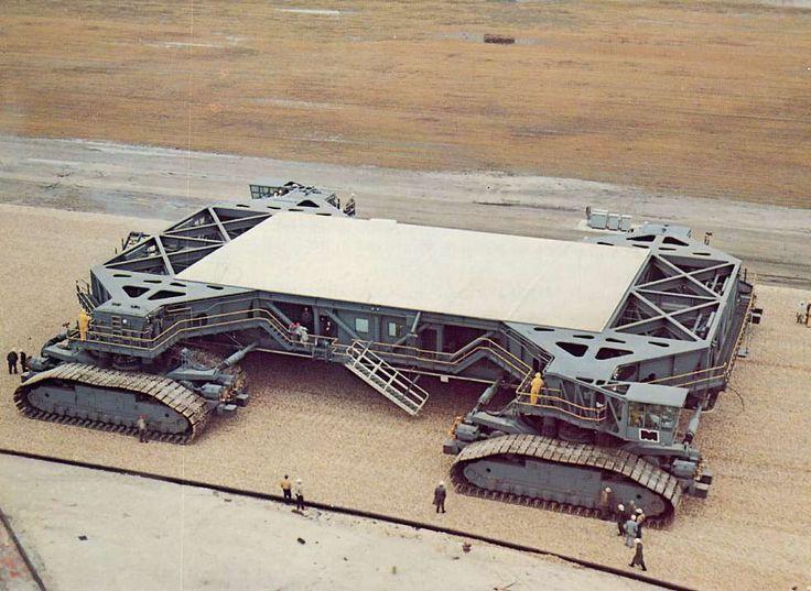 NASA Crawler Transporter, 1966.Made by THe Marion Power Shovel Company of Marion,Ohio