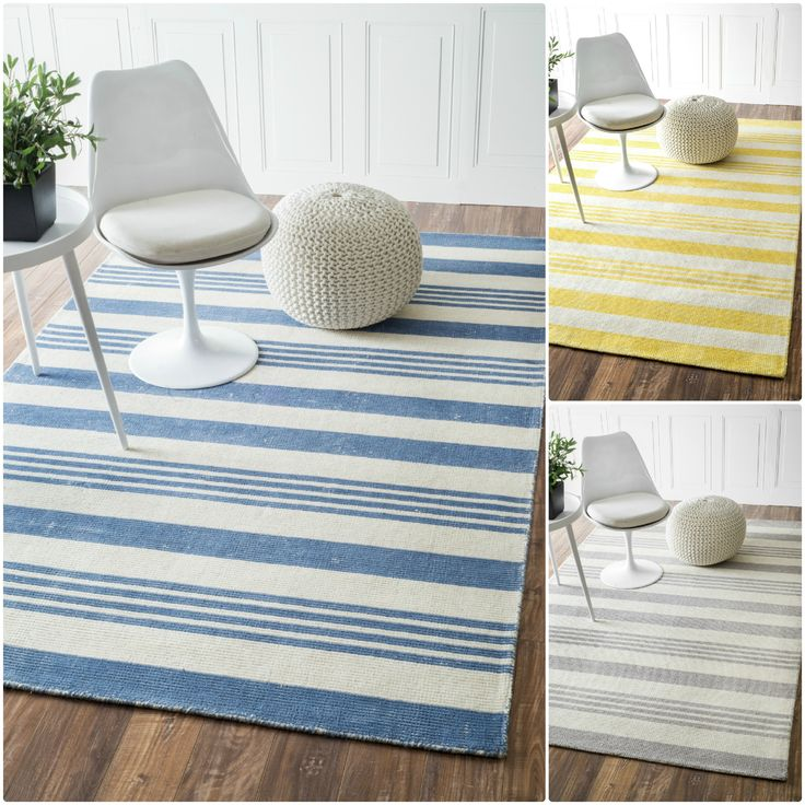 this handmade wool and cotton area rug uses subtle and modern colors to match todayu0027s interiors - Colorful Area Rugs