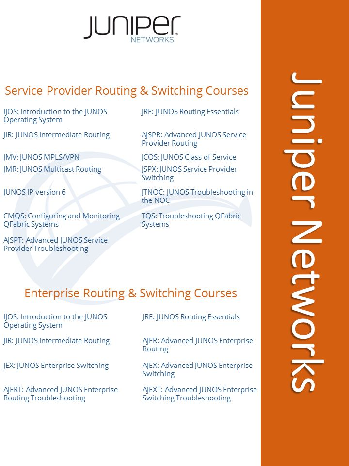 #Juniper #Networks Routing and Switching #certification #training programs at #DWWTC