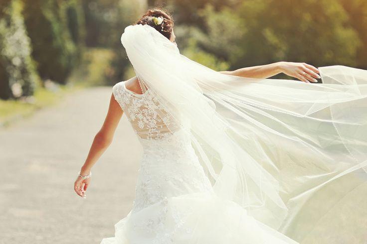Hübsche und günstige Schleier für die Braut bei Amazon. Foto: irbis pictures / Shutterstock