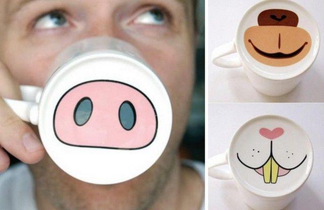 Le mug qui vous fait passer pour un animal