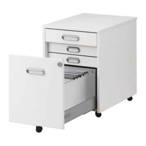 IKEA Galant File Cabinet In White