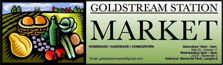 http://goldstreamstationmarket.ca/  Goldstream Station market in Langford, BC