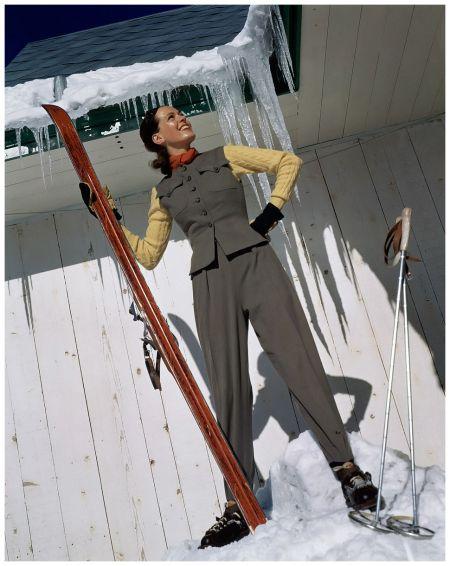Photo Toni Frissell, Vogue, December 1940
