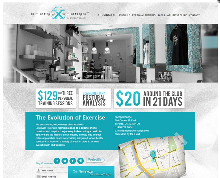 My Energy Xchange website by Fusion Studios Inc.
