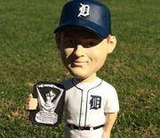 June 5, 2014 Toronto Blue Jays vs Detroit Tigers - Max Scherzer 2013 Cy Young Award Bobblehead -