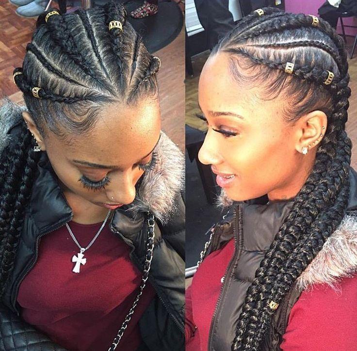 Amazing 1000 Ideas About Big Cornrows On Pinterest Ghana Braids Braids Short Hairstyles Gunalazisus