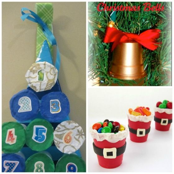 Christmas Tree Made Of Plastic Cups: 137 Best Upcycling K-cups Images On Pinterest