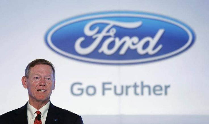 Ford's Alan Mulally mum on talks with Microsoft