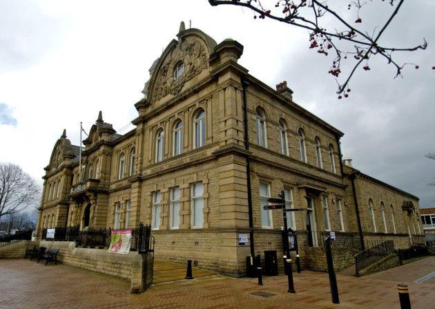 #TownHall,  #Ossett, #Yorkshire