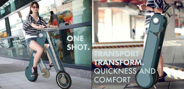 One Shot - Folding Bike by Valentina Vecchia