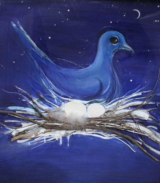 Brett Whiteley - the dove and the Moon 1983