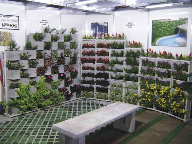 jardim vertical tijolo: roof on Pinterest