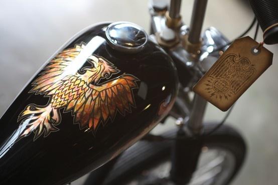 Custom motorcycle at Gasolina #swpromenade #melbourne #italian #motorcycles