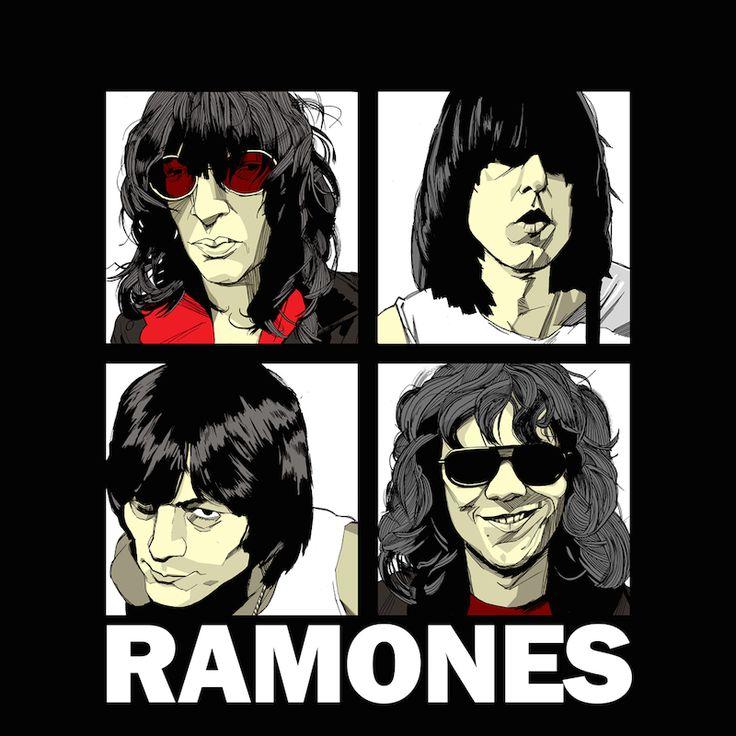 #Ramones #TheBeatles