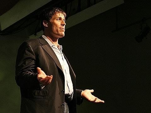 """Tony Robbins: Why we do what we do, and how we can do it better. He discusses the """"invisible forces"""" that make us do what we do."""