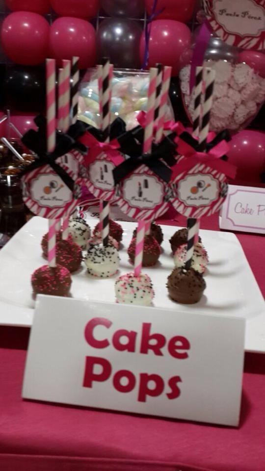 CAKE POPS FASHION