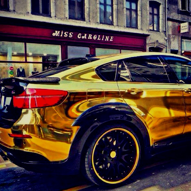 Fast Life, Easy Life, Real Life. Bmw X6 Gold