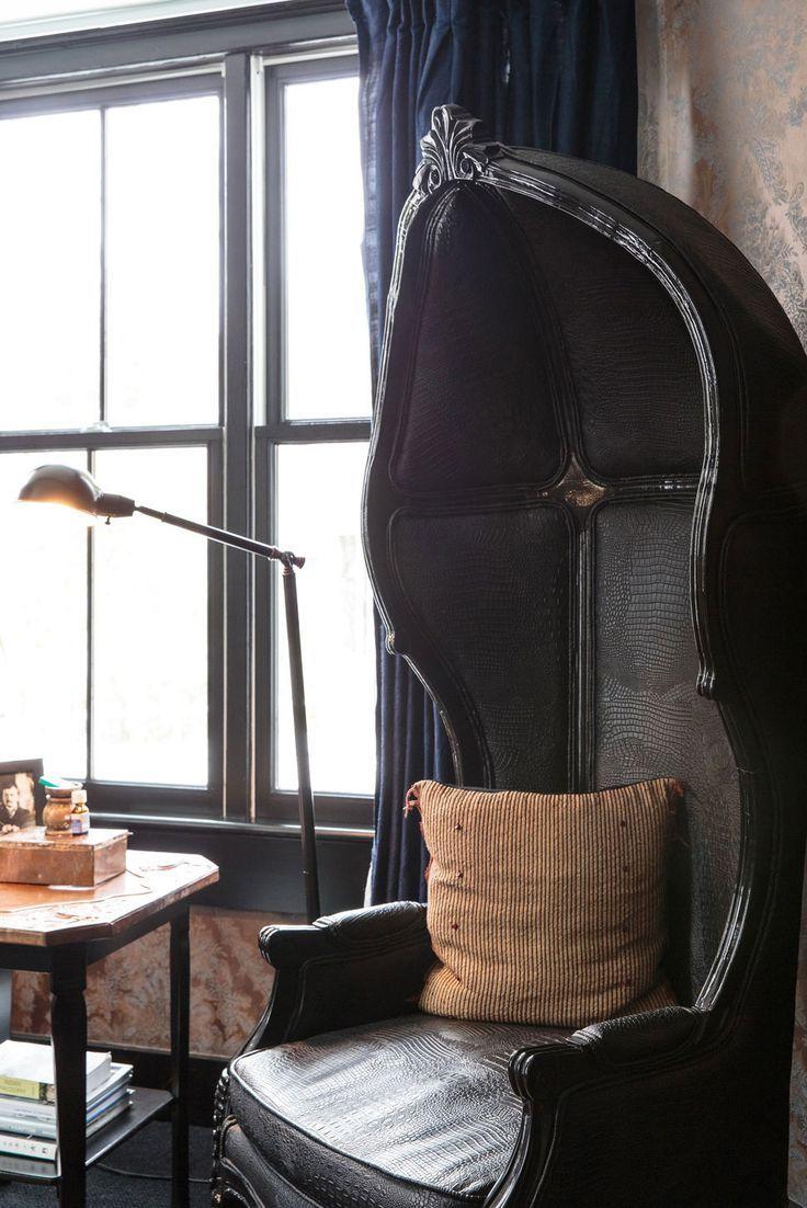 Porteru0027s Chair. C/o The Maidstone | Lonny.com