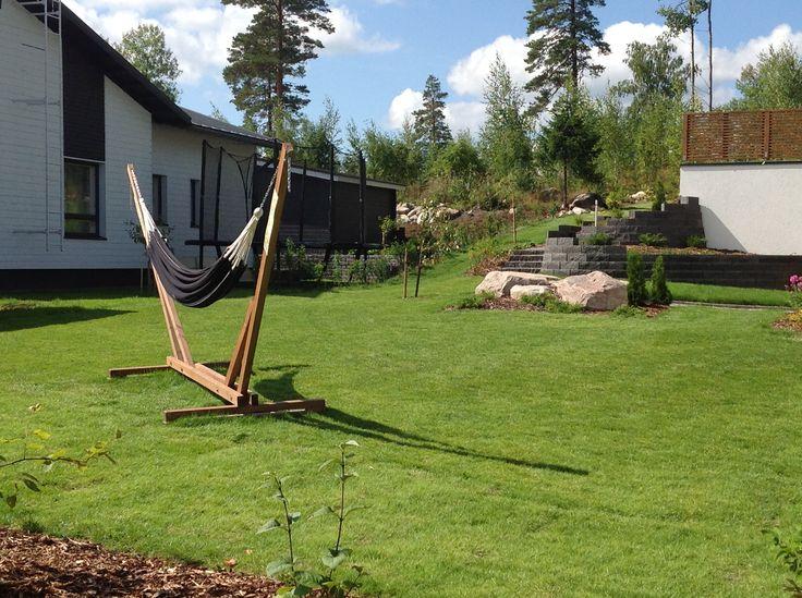 Piha, yksinkertainen, helppohoitoinen mutta kaunis Asuntomessut 2013