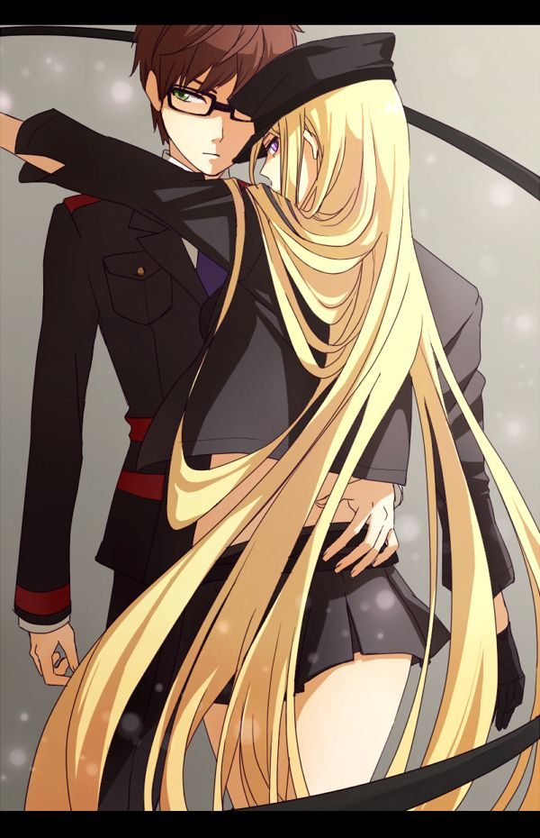 Kazuma and Bishamonten. Not gonna lie, I ship it. I'm also a little in love with Kazuma