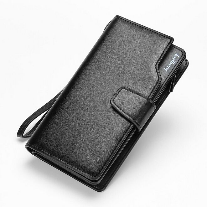 HOT! Men Long Wallet Famous Brand Luxury Male Leather Clutch Bag Casual Design Zipper Money Purse Wallets Credit Card Holders >>> Click image to review more details.