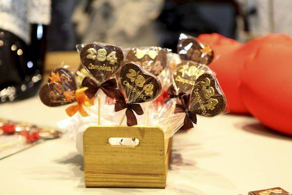Pirulito de Chocolate