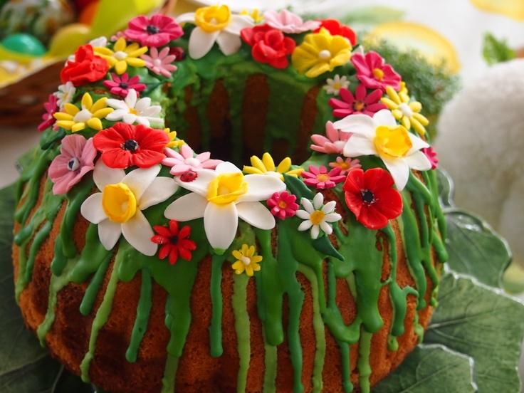 Easter bundtcake....paas tulband...babka wielkanocna