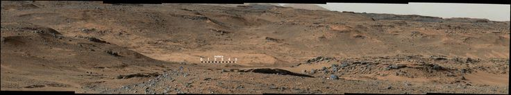 """Amargosa Valley,"" on the slopes leading up to Mount Sharp on Mars."