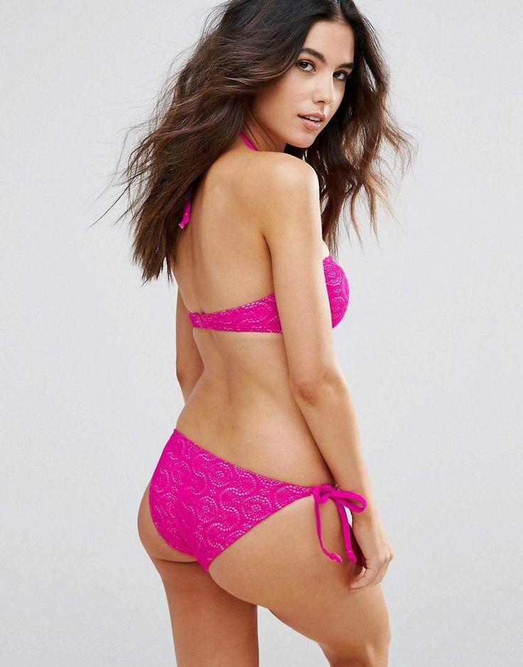 Marie Meilie Pink Bandeau Top - Pink