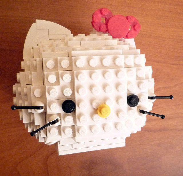 Lego Hello Kitty - hellokt1 by car_mp, via Flickr