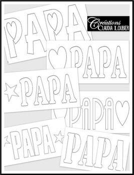 Fête des pères : projet d'arts plastiques