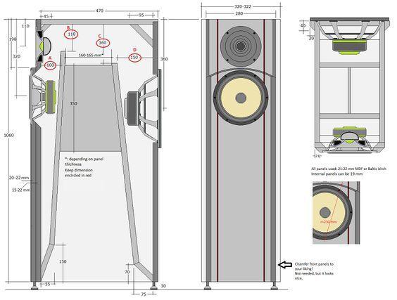 les 238 meilleures images du tableau projets enceinte acoustique sur pinterest boxe. Black Bedroom Furniture Sets. Home Design Ideas