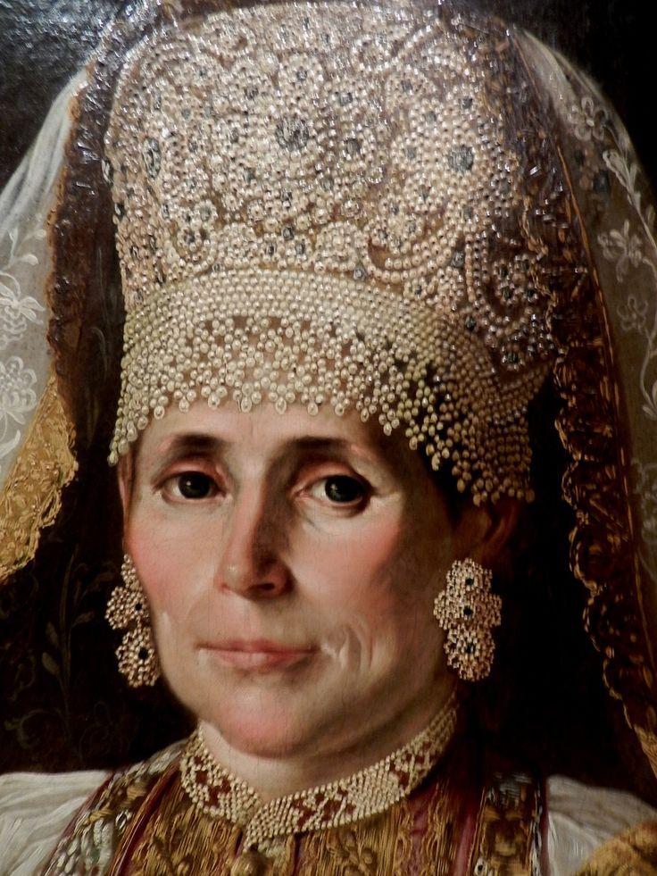vita_colorata - Купчихи Ручка маленькая, сухонькая, но крепкая. Portrait of a Russian merchant wife.