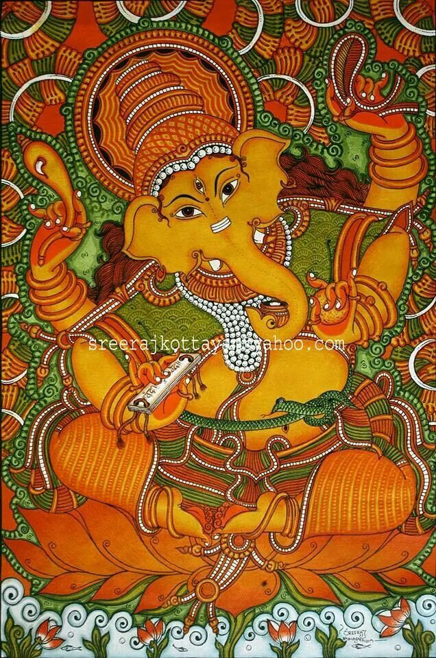 87 best images about kerala mural on pinterest kerala for Buy kerala mural paintings online