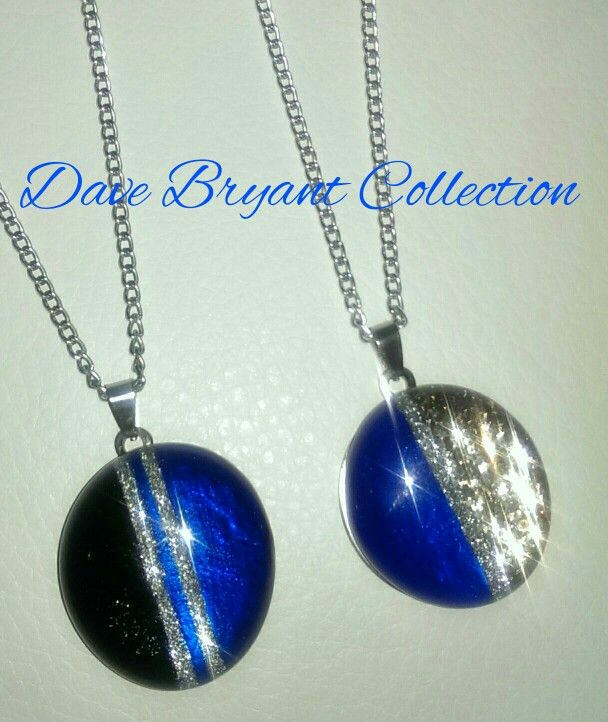Blue Art 2 Wear Bling Necklaces