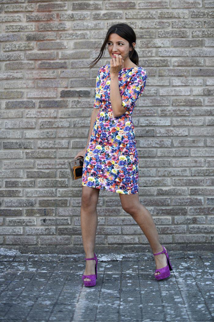 Lovely Pepa #blogger #spritzi / dress: Zara, clutch: Choies, sandals: again & again – Stylisim #fashion