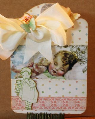 Another great tag by @Nancy Wethington! With the Little Darlings collection! #tags #graphic45