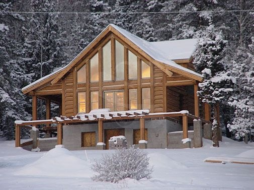 Pin by everlog systems on everlog concrete log homes for Concrete log cabins