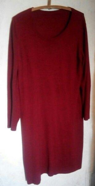 Платье шп(шерсть трикотаж до колена