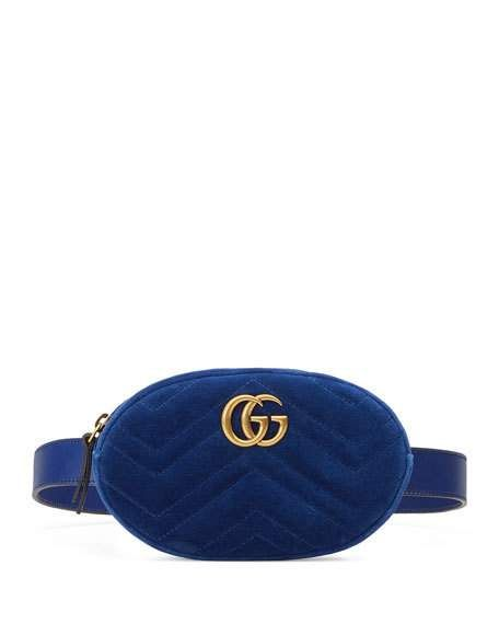 b5ba61d32eb4 Get free shipping on Gucci GG Marmont Small Matelasse Belt Bag at Neiman  Marcus. Shop the latest luxury fashions from top designers.