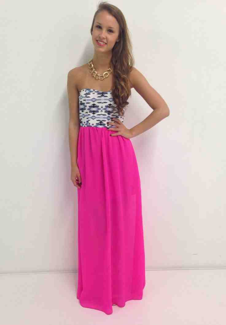 Pink Dress For Wedding Guest