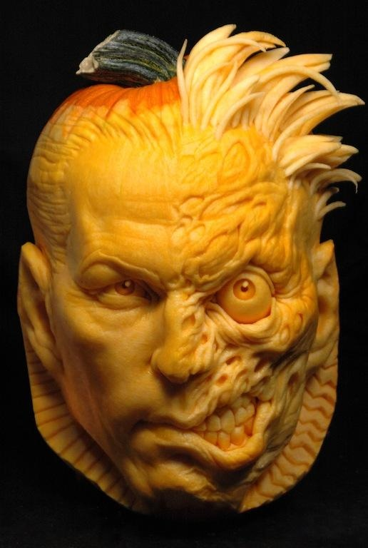 Best cool pumpkin carvings images on pinterest