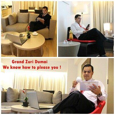 """Selamat Menyambut Siang Sahabat Zuri  #potraitpresidentsuiteroom  """"We Know How To Please You"""""""