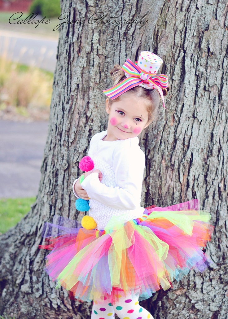 Halloween Clown Tutu Costume. $40.00, via Etsy.
