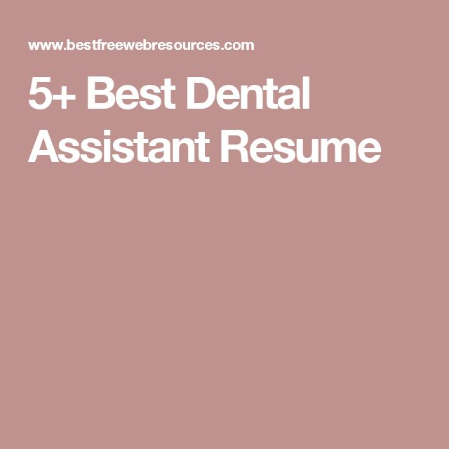 Best 25+ Dental assistant jobs ideas on Pinterest Rda dental - resume for dental assistant