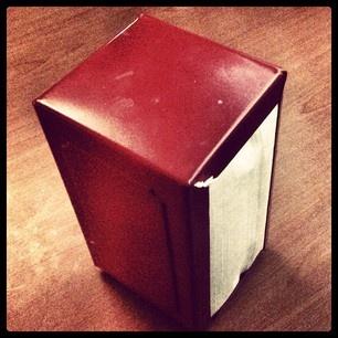 Napkin Dispenser: Blog Photo