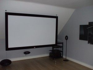 Media Room Attic On Pinterest Speaker Stands Cinema And The Attic