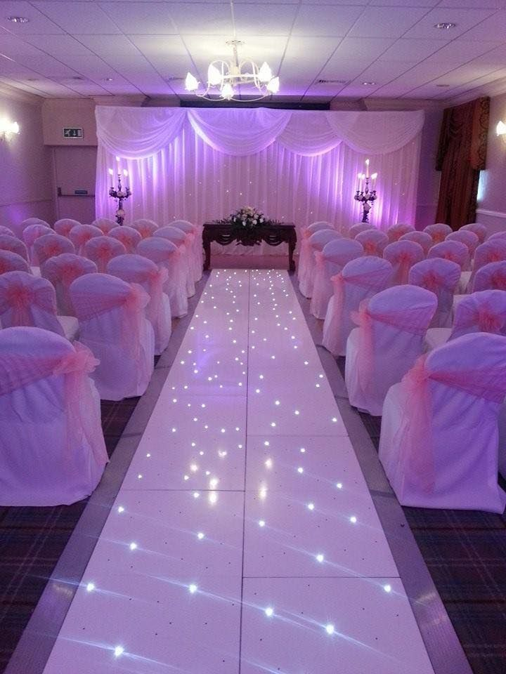 Make your wedding sparkle with illuminated dance floors special effects mood lighting and so much more →